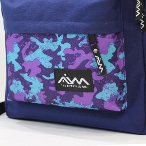 Рюкзак AIM CLASSIC SPOT PURPLE NAVY